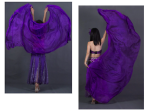 100-Rectangle-Silk-Veils-Plain-Veil-Colours-Belly-Dance