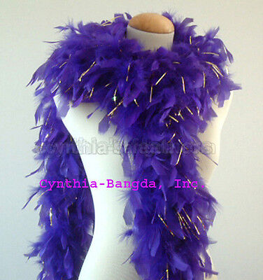 Chandelle Feather Boa 65 gram Navy