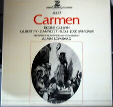 Bizet: Carmen / Alain Lombard, Crespin, py, Pilou, Van Dam - LP