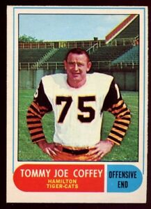 Tommy-Joe-Coffey-1968-OPC-CFL-44-Hamilton-Tiger-Cats-CREASE-FREE