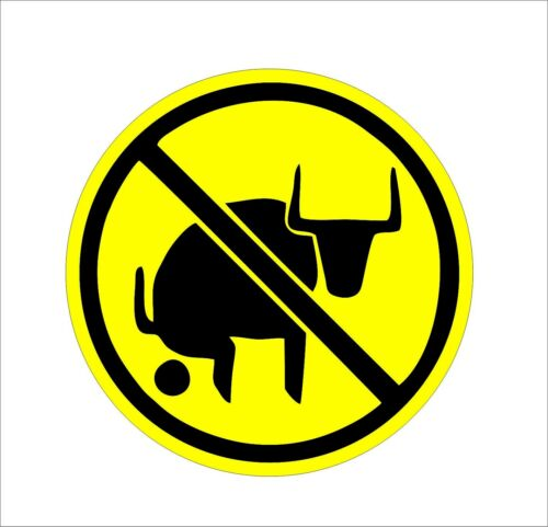 No Bull$hit Hard Hat Sticker Decal Label Tool Lunch Box Helmet Car Van Decor