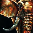 NEW Modern Abstract Elephant Home Wall Art Decor Oil Painting On Canvas Unframed