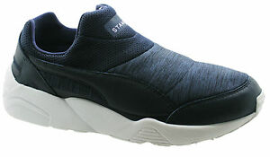 Puma Trinomic Sock X Stampd NM Sneaker Uomo Mocassini Scarpa Blu 359812 03 D25