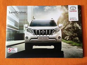 Details about Toyota Land Cruiser brochure sales catalogue August 2015 Icon  Invincible MINT