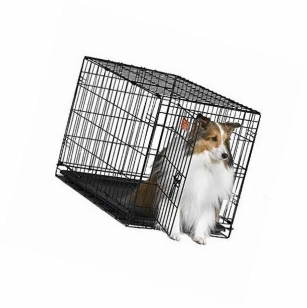 """30"""" Midwest iCrate Medium Pet Dog Metal Cage W/ Single Door"""