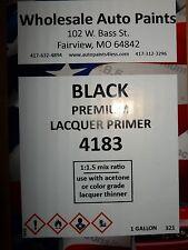 High Build Premium Acrylic Lacquer Primer Black Gallon Fast Dry, Easy Sanding 1K