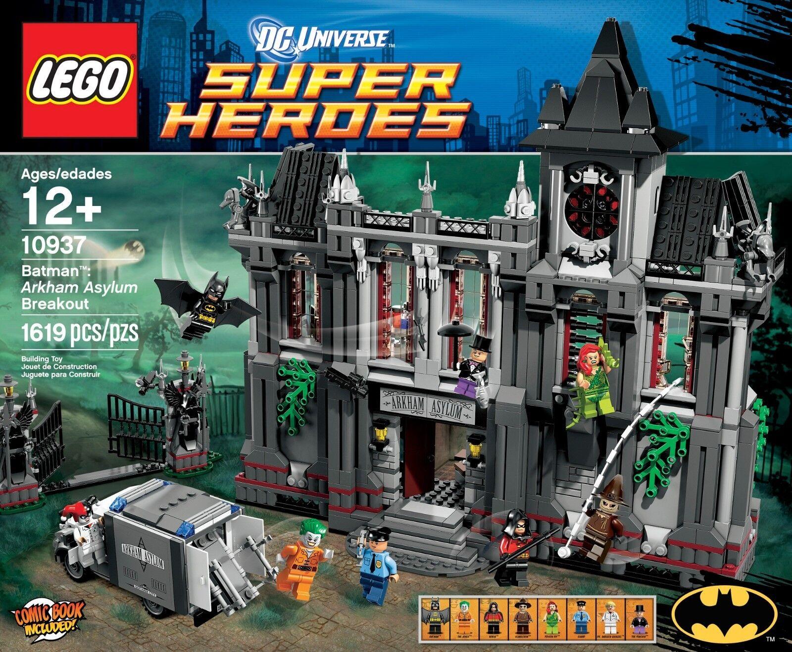 Lego Universe Super Heroes Batman Arkham Asylum Breakout Set 10937 BNIB - Rare
