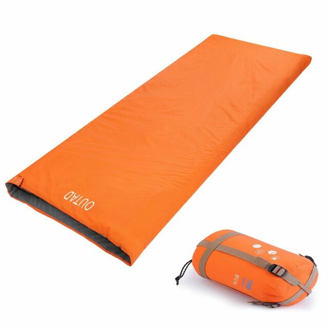 Outdoor Camping Hiking Survival Shelter Double Adult Sleeping Bag Liner NEW