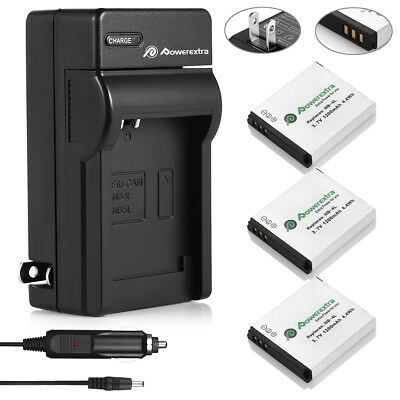 Charger 2 xBattery for CANON NB-4L IXUS 30 40 50 55 60 65 70 75 80 IS ZOOM NB4L