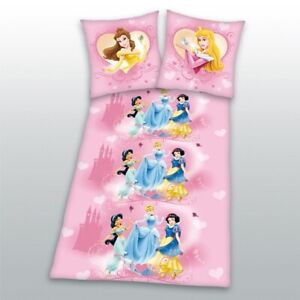 Bettwaesche-Disney-Prinzessin-Princess-135x200-80x80-cm