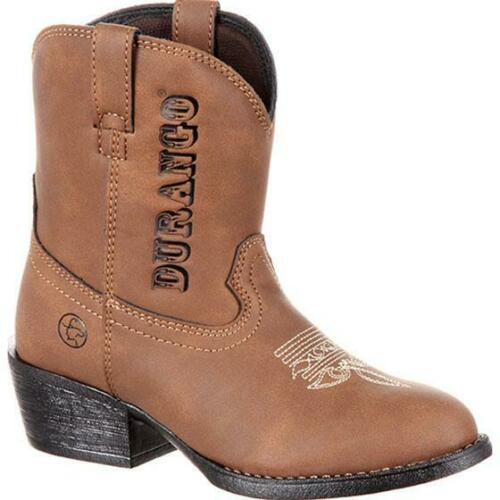 Lil/' Outlaw™ by Durango® Big Kids/' Embossed Western Boot