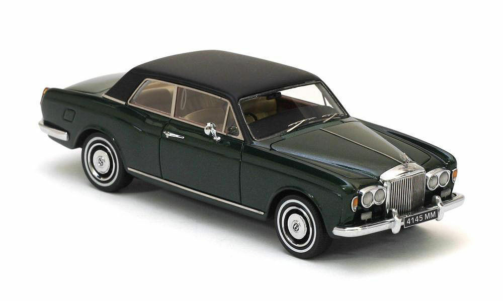 Bentley Corniche verde Metálico 1971 1 43 Neo 44145