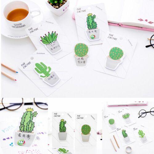 form kreative bürobedarf pasto aufkleber haftnotizen memo pad kaktus diy
