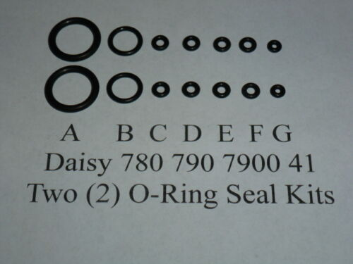 Ring Seal Kits 2 O Daisy 780 790 7900 41 Two Exploded View /& E-Z Seal Guide