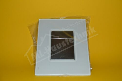 moon white Grohe 38845LS0 Abdeckplatte Skate Cosmop.m.Glasoberfl
