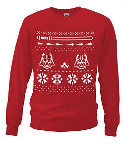 Red-Evil-Star-Master-Sweatshirt-Christmas-Gift-Galaxy-Wars-Nordic-Sweat-Shirt-UK