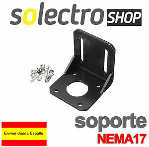 Soporte-Nema-17-Motor-42mm-Mounting-Bracket-Impresora-3d-Printer-Prusa-I0044
