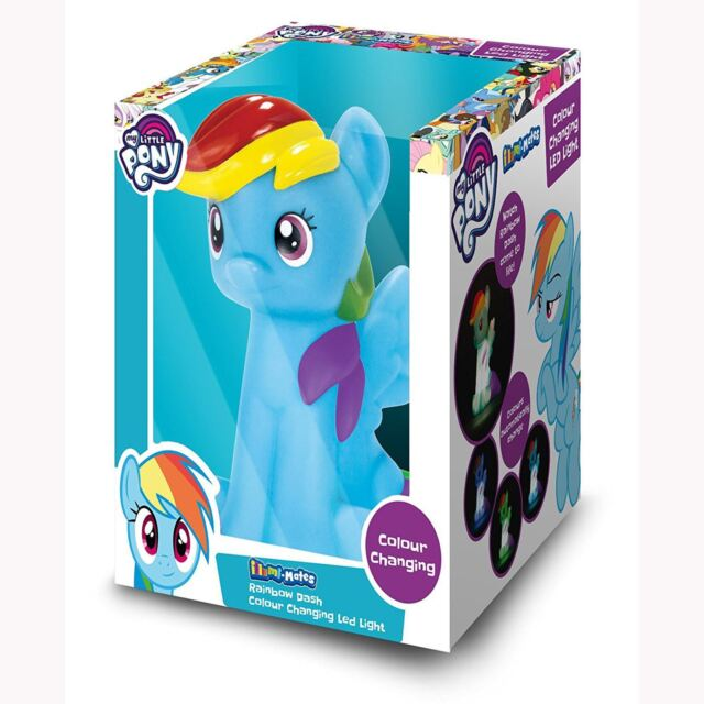 My Little Pony Rainbow Dash Illumi-Mate Couleur Changeante LED Lampe