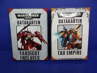 Data Carte Tau Empire & Farsight Enclaves 7. Edt.-mostra Il Titolo Originale