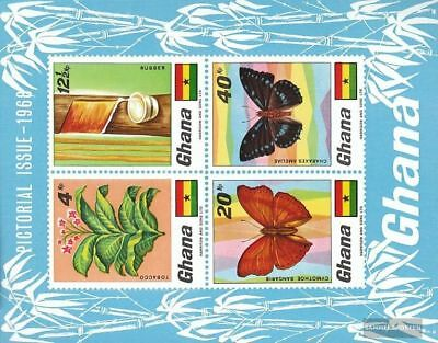 Ghana Block31 Unmounted Mint Never Hinged 1968 Flora And Flo complete.issue.