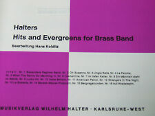 Halters Hits and Evergreens for Brass Band Heft 1 Klarinette 1 in b