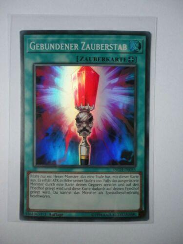 GEBUNDENER ZAUBERSTAB INCH-DE055 SUPER RARE 1.AUFLAGE