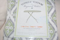Raymond Waites Totally Vintage Ironing Board Cover Gray And Green Cream Nip