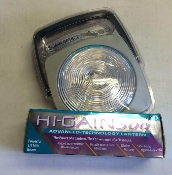 Hi Gain 500 Lantern 6 Volt 4d Cell Light Made In USA