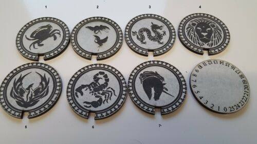 Acrylic L5R Honor Counter Dial