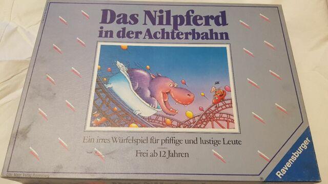 Das Nilpferd in der Achterbahn von Ravensburger           (N)