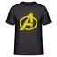 Avengers-Famous-Infinity-Film-de-guerre-Logo-T-Shirt-hommes-amp-femmes-tee miniature 3
