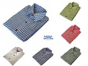 Tolles-Kinder-Trachtenhemd-Gr-86-176-verschiedene-Farben-kariert-NEU