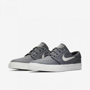 a27a760e247 New Nike SB Zoom Stefan Janoski Canvas Dark Gray White Skate Shoes ...