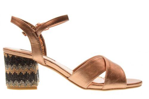 Nude 30704 Tentations Talons Xti Chaussures Bas Pour À P18f Sandales Femmes PwFpvxz