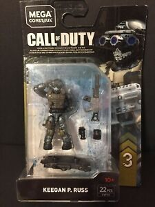 Mega-Construx-Call-Of-Duty-Series-3-Keegan-P-Russ-FVF93-23-pcs-New-Sealed