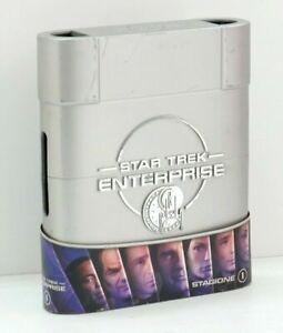 STAR-TREK-ENTERPRISE-Stagione-1-Completa-n-7-DVD-ITA-in-Cofanetto