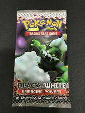 Pokémon Black and WHITE Emerging Powers Booster pack Lot 10 Packs loose L@@K!