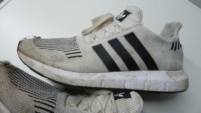 Adidas Swift Run Gr. 42,5 US 9 27 cm Adidas Artikel # CQ2116 white black