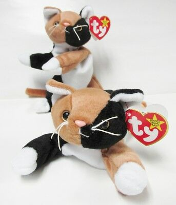 Ty Beanie Baby Chip Calico Cat PRISTINE CLEAN Brand New-PERFECT w//Mint Tags