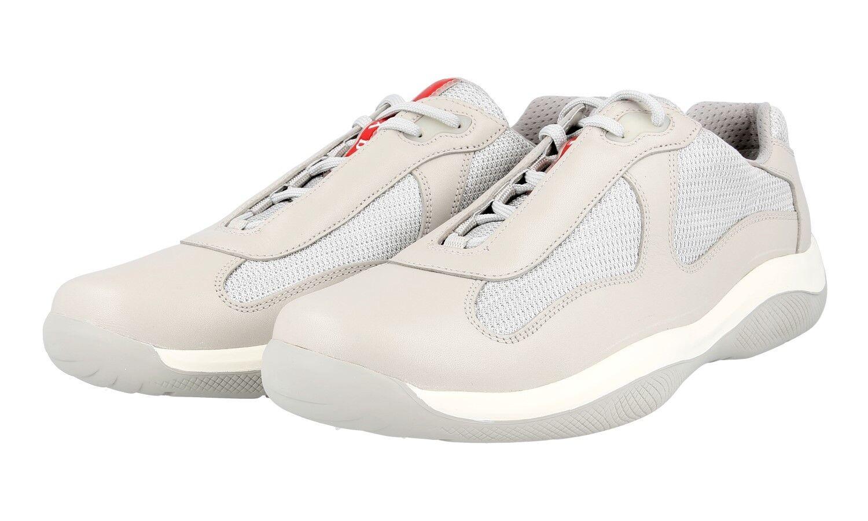 shoes PRADA LUXUEUX AMERICAS CUP PS0906 CRISTALLO NOUVEAUX 10 44 44,5