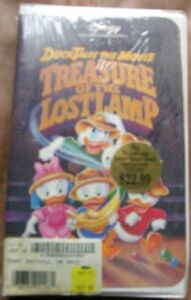 Details About Disney Ducktales The Movie Treasure Of The Lost Lamp New Vhs Movie Sealed