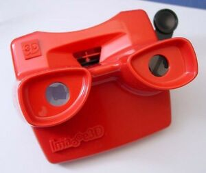 View-Master-viewer-by-Image-3D-RED-color-made-in-the-USA