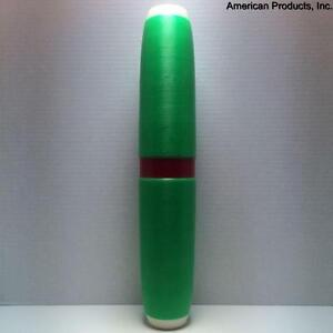 Candlepin-Bowling-Pin-Colored-Brand-New-Green-Candlepin-With-Red-Marker