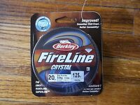 Berkley Fireline Crystal 20 Lb 125 Yards Crystal
