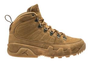 8269e1a4c49 2018 Nike Air Jordan Retro 9 IX Boot SZ 8-14 Wheat Flax Brown NRG ...