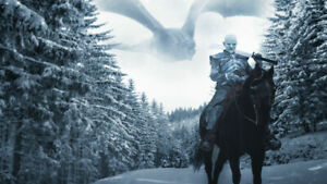 Game Of Thrones Season 8 Night King Wallpaper Poster 24 X 14 Inches