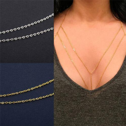 Bikini.Beach Crossover Waist Belt Belly Body Chain Harness Necklace Jewelry