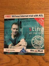 Sting The Police All This Time Bonus Exclusive Videos Fragile Cd Rom Uk Single