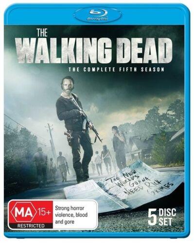1 of 1 - The Walking Dead s5 Season 5 Blu-ray [Region B]