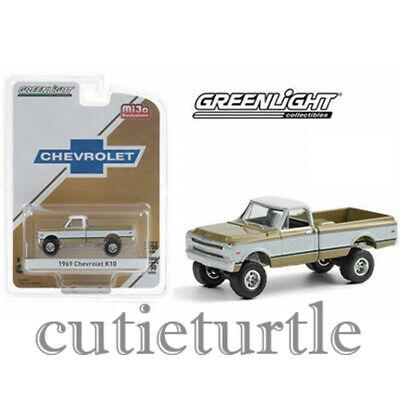 GREENLIGHT 51337 1969 CHEVROLET K10  PICK UP TRUCK 4X4 1//64 Chase